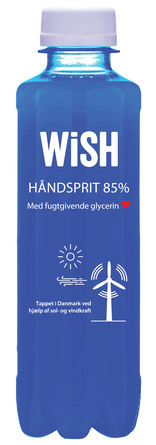 WiSH Håndsprit 85% 250 ml