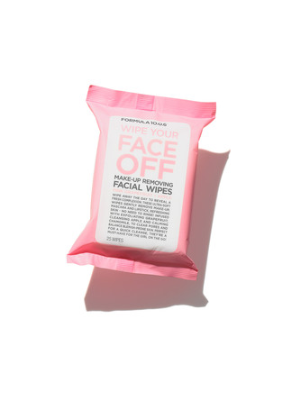 Formula 10.0.6 Wipe Your Face Off Wipes 25 stk.