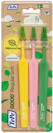 TePe GOOD Regular Soft tandbørster 3-pak