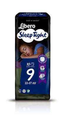 Libero SleepTight str 9 Bleer 10 stk