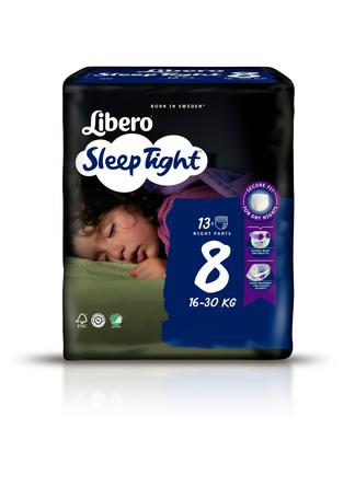 Libero SleepTight str 8 Bleer 13 stk