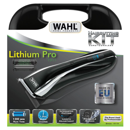 Wahl Hårklipper Lithium Ion Pro LCD