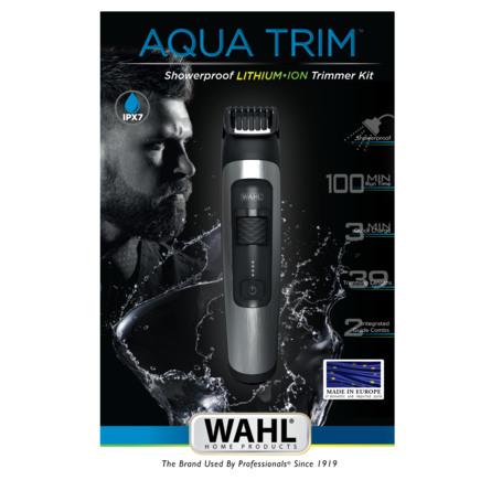 Wahl Skægtrimmer Aqua Trim