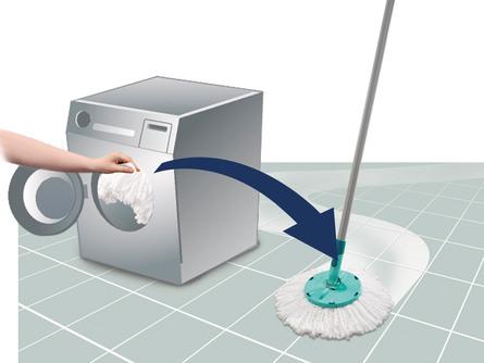Leifheit Gulvvaskersæt Clean Twist Active
