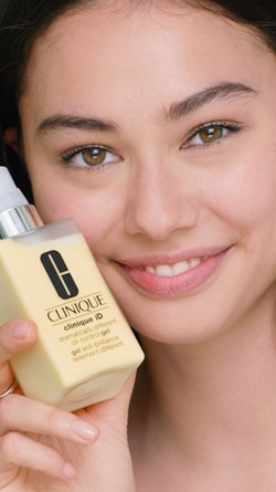 Clinique iD Active Cartridge Concentrate + Dramatically Different Oil-Control Gel Uneven Skin Tone, 125 ml