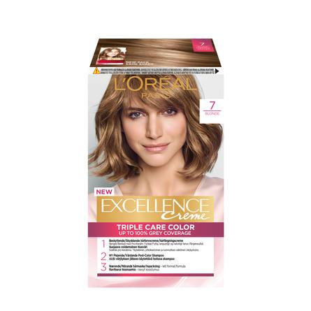 L'Oréal Paris Excellence Creme 7 Naturlig Blond