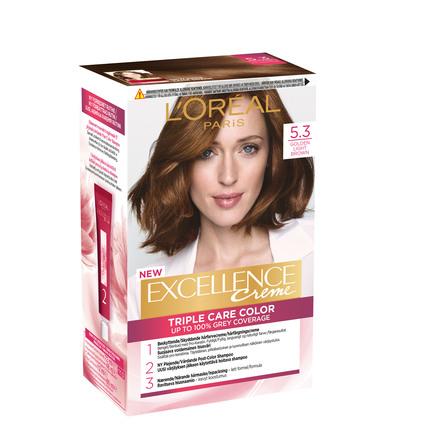 L'Oréal Paris Excellence Creme 5.3 Lys Gyldenbrun