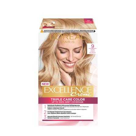 loreal hårfarve excellence