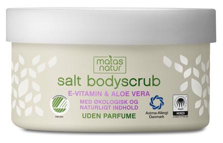 Matas Natur Aloe Vera & E-vitamin Salt Bodyscrub 200 g