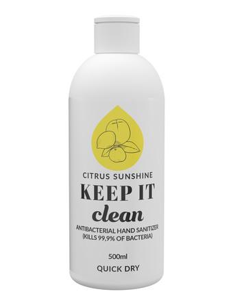 Keep It Clean Håndsprit 70% Citrus 500 ml