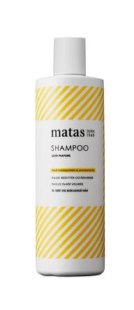 Matas Striber Shampoo til Tørt og Beskadiget Hår Uden Parfume 500 ml