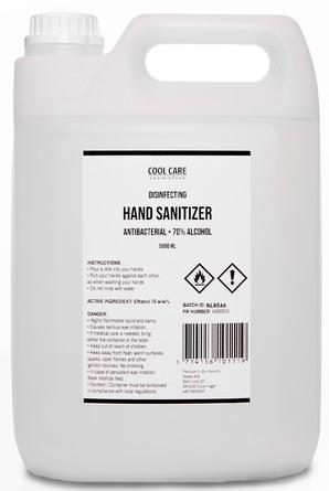 CoolCare Flydende Hånddesinfektion 70% 5000 ml