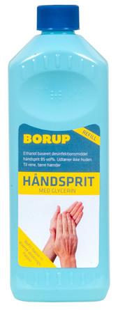 Borup Håndsprit 85% 500 ml