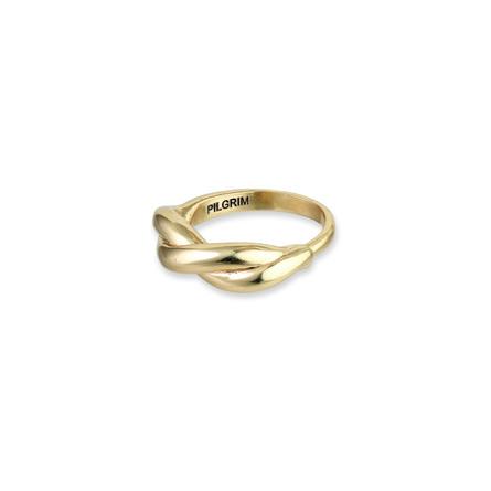 Pilgrim Ring Skuld Guld Belagt