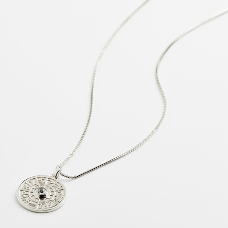 Pilgrim Halskæde Fia Sølv Belagt Krystal