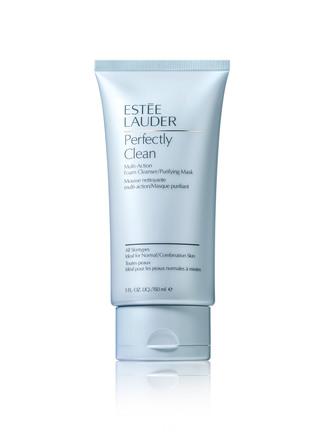 Estée Lauder Perfectly Clean Foam Cleanser/Purifying Mask Normal/Kombineret Hud 150 ml