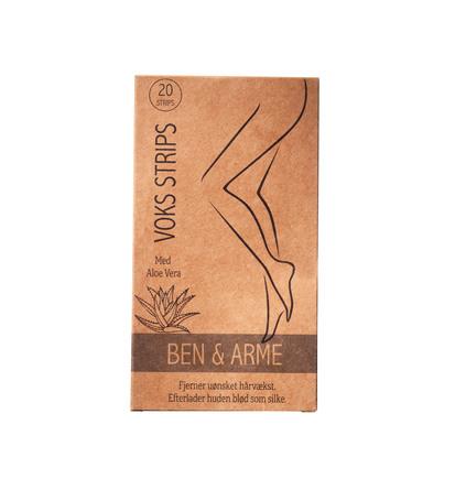 Honey Wax Voksstrips til Ben & Arme 20 stk.