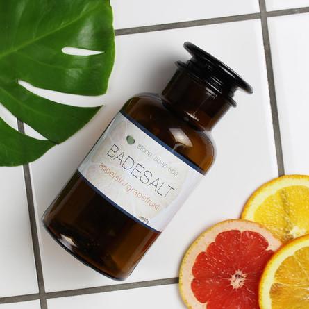 Stone Soap Spa Badesalt Appelsin/Grapefrugt