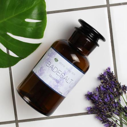 Stone Soap Spa Badesalt Lavendel