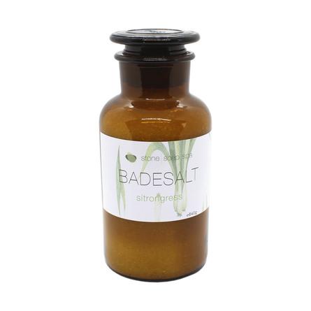 Stone Soap Spa Badesalt Citrongræs