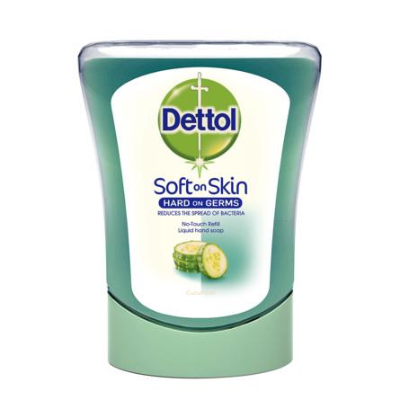 Dettol No Touch Soap Refill Cucumber 250 ml
