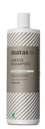 Matas Striber Luksus Shampoo til Normalt Hår 1000 ml