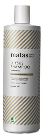 Matas Striber Luksus Shampoo til Normalt Hår Uden Parfume 1000 ml