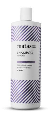 Matas Striber Shampoo til Fint Hår 1000 ml