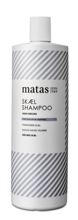 Matas Striber Skælshampoo Uden Parfume 1000 ml