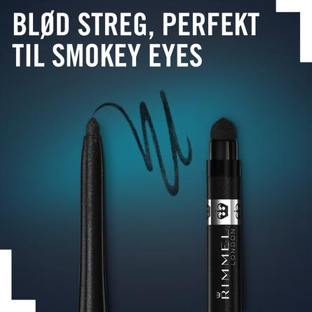Rimmel Exaggerate Eyeliner vandfast Starlit Black