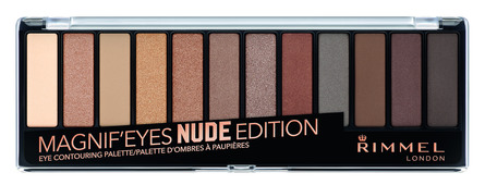 Rimmel Magnif'eyes Eyeshadow Palette 001 Nude Edition