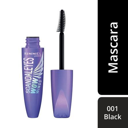 Rimmel Wow Wing Mascara 001 Black