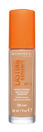 Rimmel Lasting Radiance Foundation 100 Ivory