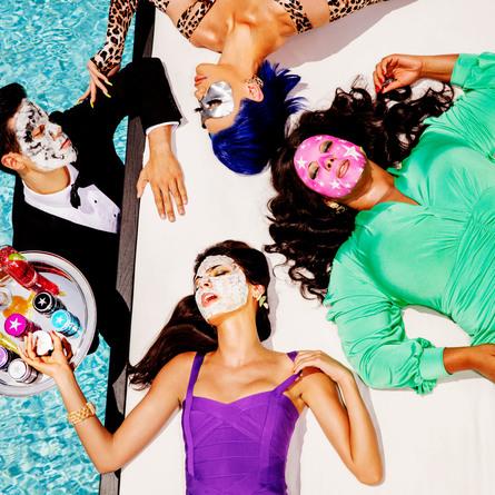 GlamGlow Coolsheet Hydrating Dry Gel Sheet Mask