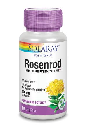 Solaray Super Rosenrod 60 vegetabilske kapsler