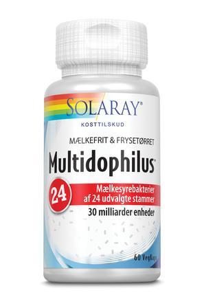 Solaray Multidophilus 24 60 vegetabilske kapsler