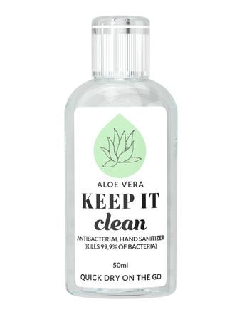 Keep It Clean Håndsprit 70% Aloe Vera 50 ml