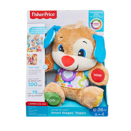 Fisher Price Laugh & Learn Puppy Alder 6-36 mdr.