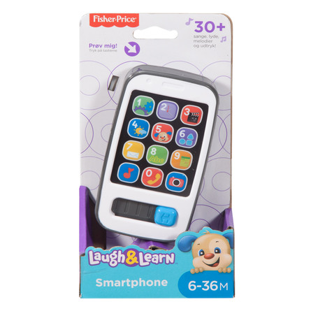 Fisher Price Smart Phone Alder 6-36mdr.