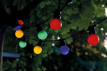 Sirius Lucas suppleringssæt 10 lys Multifarvet Pærer
