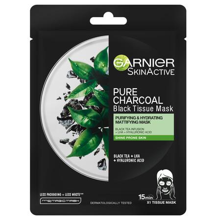 Garnier Black Tissue-maske Tea tree 28 g