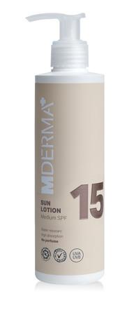 MDerma Sun Lotion SPF 15 200 ml