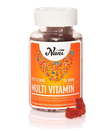 Nani Multivitamin Børn 90 stk.