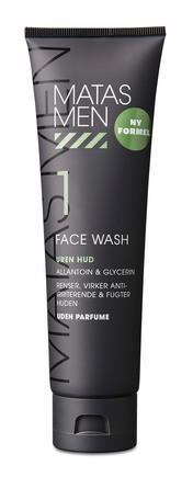 Matas Striber Men Face Wash til Uren Hud Uden Parfume 150 ml