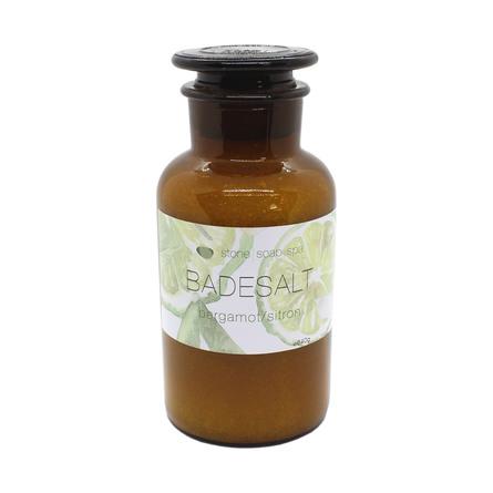 Stone Soap Spa Badesalt Bergamot/Citron