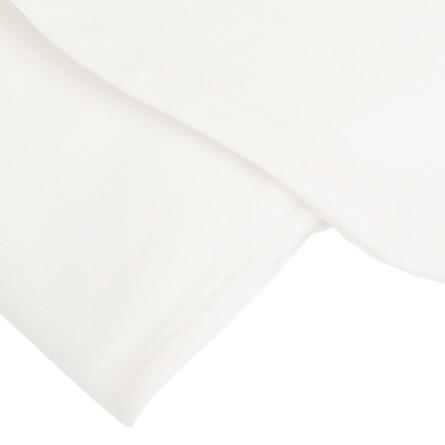 Fossflakes Betræk Comfort-U SR Bomuldsjersey Hvid