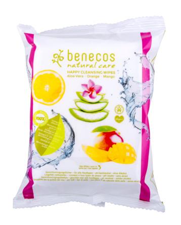 Benecos Cleansing Wipes 25 stk.