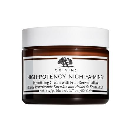 Origins High-Potency Night-A-Mins Resurfacing Cream with Fruit-Derived AHAs 50 ml