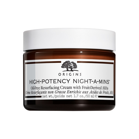 Origins High-Potency Night-A-Mins Oil-Free Resurfacing Cream with Fruit-Derived AHA 50 ml