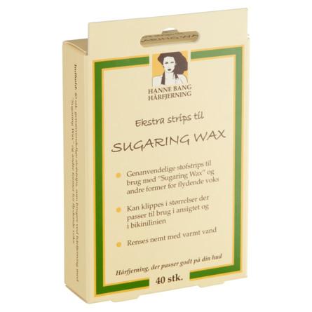 Hanne Bang Ekstra strips til Sugaring Wax 40 stk.